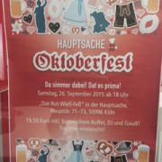 Oktoberfest 2015 Hauptsache